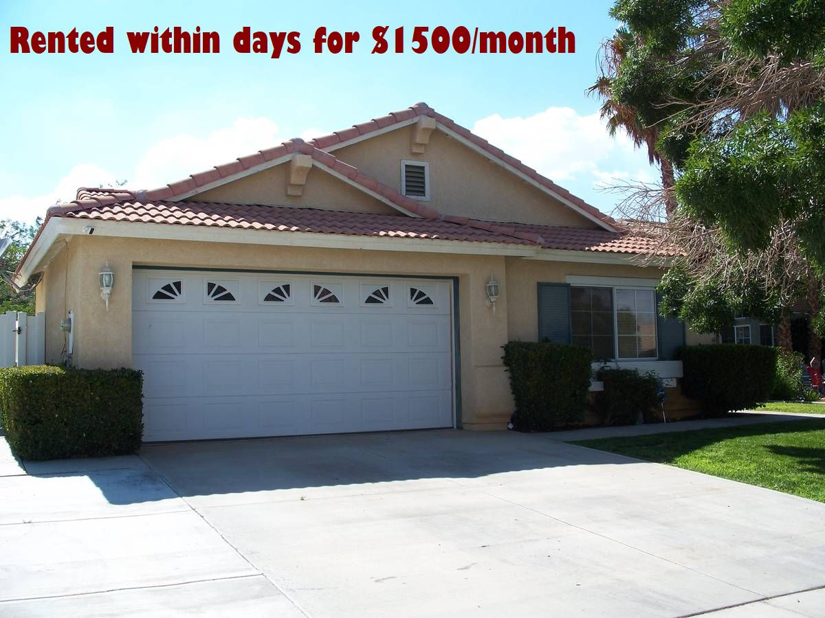 High Desert Area Property Management Company